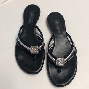 Brighton Sandals with Silver Jewel